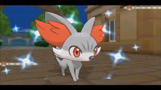 Live Shiny Fennekin In Pokemon Xy After 3450 Sr S Wfacecam Ishc 2014