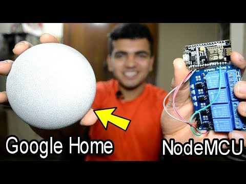 Controlling Room Lights With Google Home Mini ! Voice Activated Home Automation| Blynk NodeMCU IFTTT