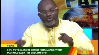 """""""Under Mahama's Administration, He Collapsed The Banks"""" - Kennedy Agyapong"""