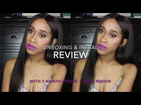 Hair  WhiteLabelHair FRONTAL & Brazilian Body Wave Review + 3mo  Update!   Nae and Nea