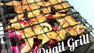 Grilled Quail │ Barbecued Quail Recipe