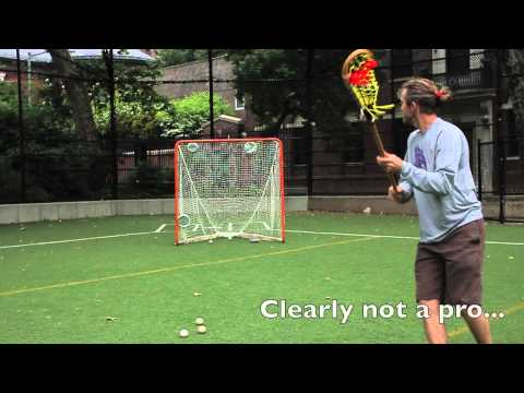 Shooting with a Wooden Lacrosse Stick