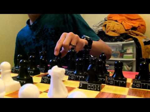 Playing CHESS with myself (Daniel Howard-Salame' Video)