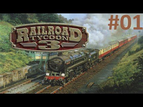 Railroad Tycoon 3 - Ligação Leste-Oeste dos EUA! ep 01