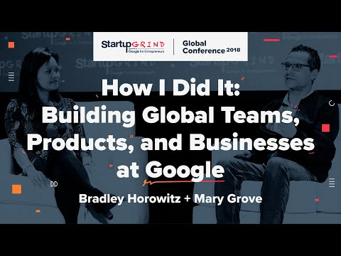 How I Did It: Building Global Teams, Products, and Businesses at Google