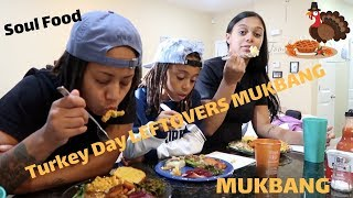 By Rolling With The Benns Vlogs  C2 B7 Thanksgiving Leftovers Mukbang