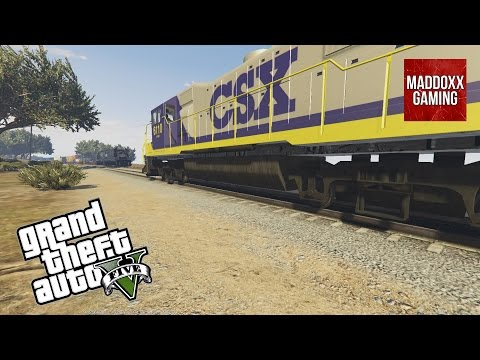 2 Super Fast Trains Meet in GTA 5 | Over 70 different skins | 1440p 60 Fps | MaddoxxGaming