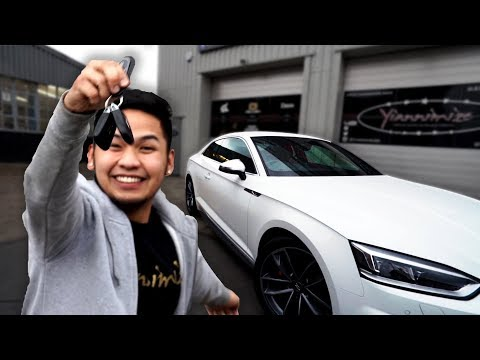 Yianni Surprises Mark with New Car