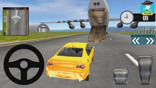 Modern Car Transporter Plane Android Gameplay Fhd