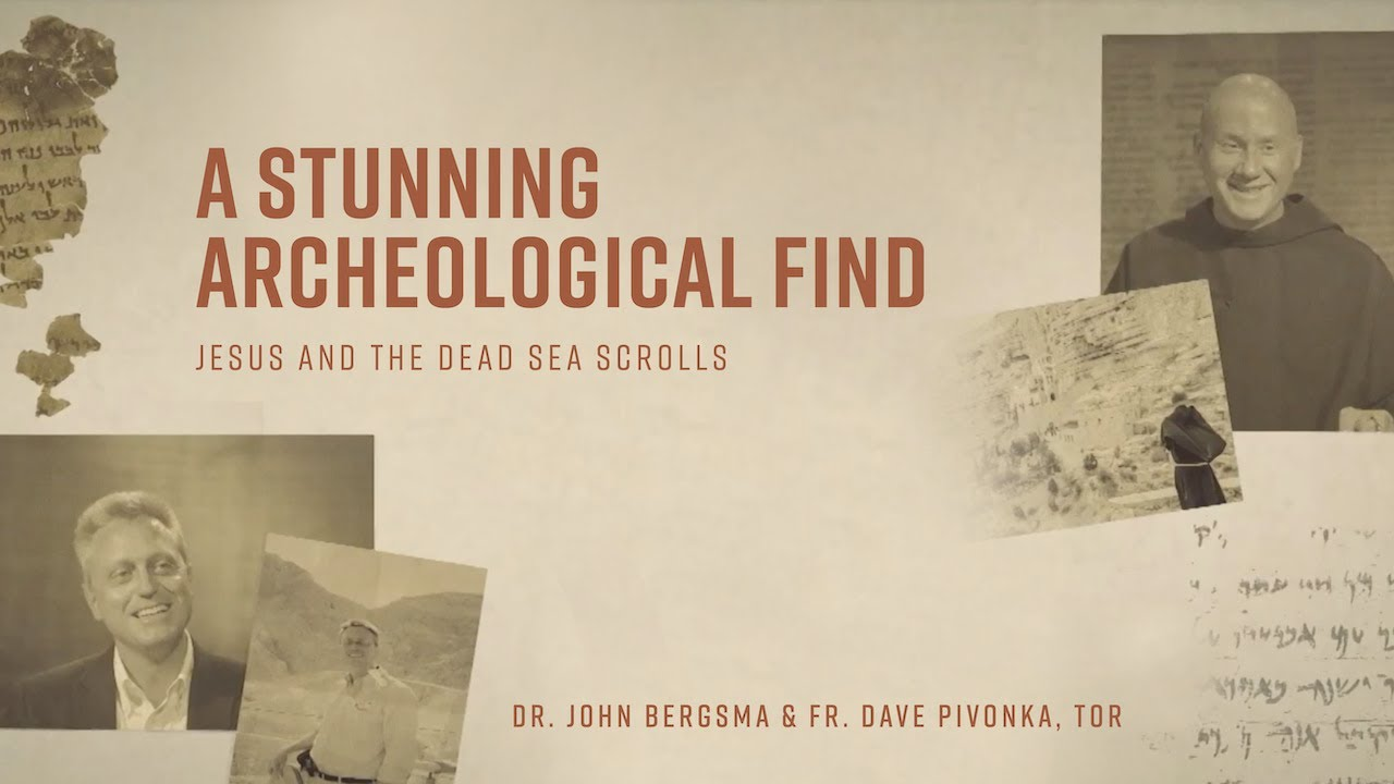 Episode 1   A Stunning Archeological Find   Jesus and the Dead Sea Scrolls