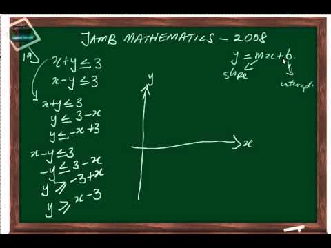 (www.jamb.org.ng) Jamb Maths Past Question And Answer 2008 QN19