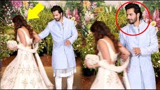 Varun Dhawan INSULTS Girlfriend Natasha Dalal At Sonam Kapoor Wedding Reception