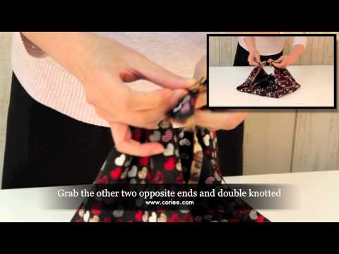 How To Make a Purse with a Silk Scarf