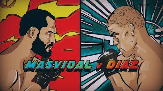 UFC 244 x Manga promo | For the title of baddest man in the world...