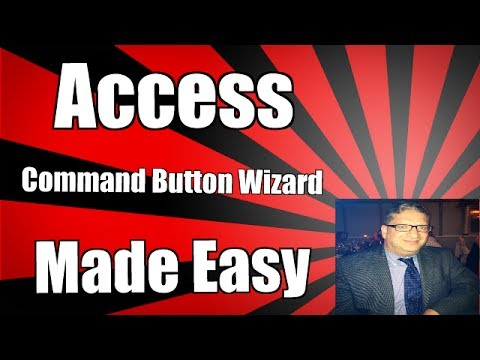 How to Call One Form From Another Form in Access using the Command Button Wizard 2007 2010 2013 2016