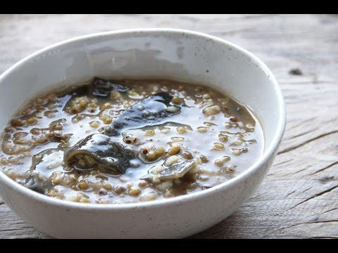Chinese Green Bean Dessert Soup 綠豆沙   East Meets Kitchen