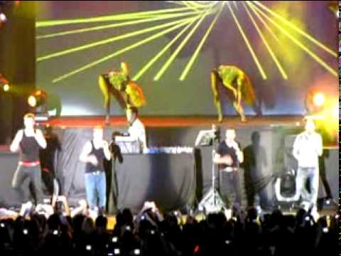 Backstreet Boys Live in Singapore 2010 - The Call / The One medley