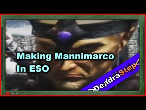 Making Mannimarco Character In ESO