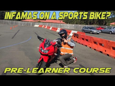 DECA Pre-Learners Course Overview (Motorbike licence course)