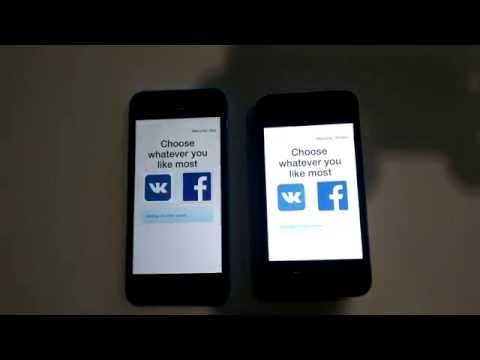 A prototype of the Likr app developed at UA Web Challenge mobile hackathon.