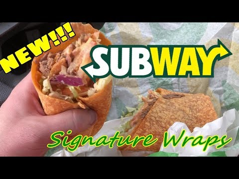 Subway New Signature Wraps Chiptole Steak and Cheese Wrap Review