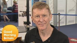 Major Tim Peake Talks of the Importance of Space Exploration | Good Morning Britain