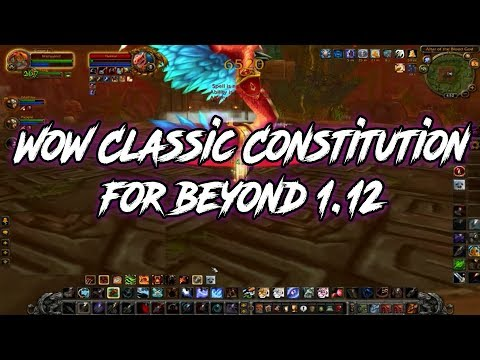 5 Rules for WoW Classic after Patch 1.12
