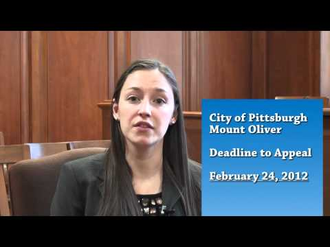 2012 Allegheny County Reassessment Update: 1/12/12