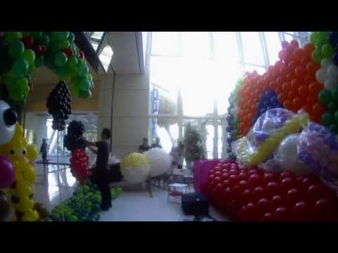 Making of Avon Lee's Magic Castle Balloon Decoration