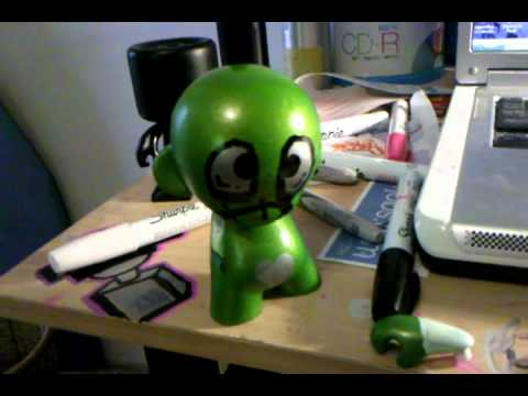 How to Customize a Vinyl Toy Part 4