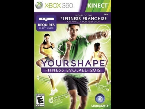 YOUR SHAPE FITNESS 2012 FOR XBOX 360 KINECT DEMONSTRATION