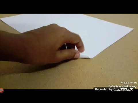 How to make a paper gun that shoots bullets