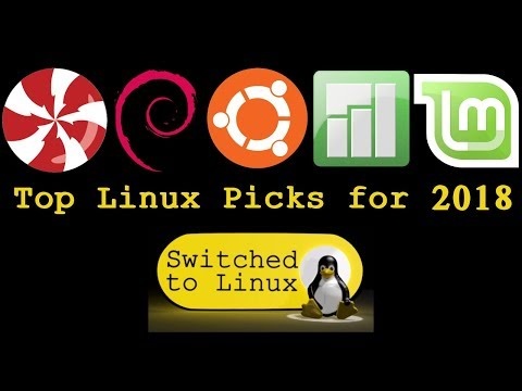 Top 5 Linux Distros for 2018