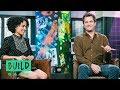 """Joshua Jackson & Lauren Ridloff (With Interpreter Candace Broecker-Penn) On """"Children Of A Lesser Go mp3"""