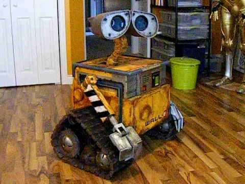 My Scratch Built Life-size WALL-E