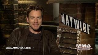 Haywire's Ewan McGregor on What He Learned About Fighting From Co-Star Gina Carano