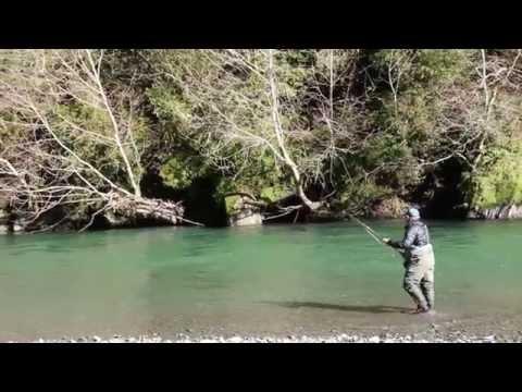 Swing North-Fly Fishing Winter Steelhead-California Trout