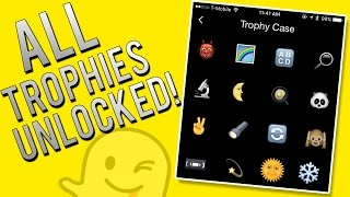 How To Unlock All Snapchat Trophies Full Achievement List