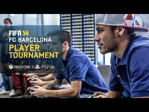 FIFA 14 - FC Barcelona Player Tournament - Neymar, Fàbregas, Piqué