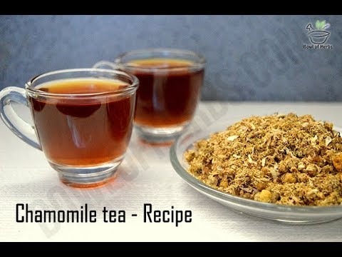 Chamomile tea recipe - With detailed steps