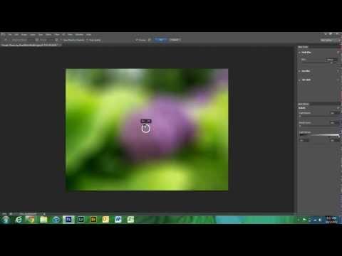 Blur Tools in Photoshop CS6