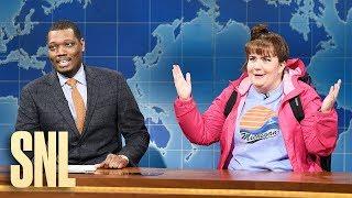 Weekend Update: Travel Expert Carrie Krum on Winter Getaways - SNL
