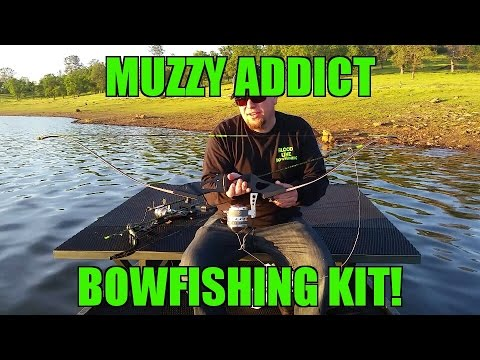 Muzzy Addict Bowfishing Kit Review