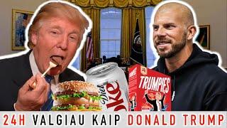 24h VALGIAU kaip JAV prezidentas DONALD TRUMP | VLOG№16