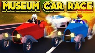 Racing The New Museum Car Roblox Jailbreak