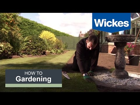 How to Lay Turf with Wickes