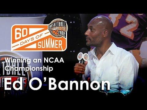 Ed O'Bannon talks about winning an NCAA championship