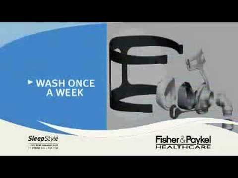 Fisher and Paykel Nasal CPAP Masks - Cleaning