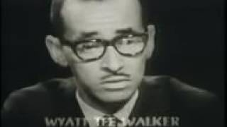 Open Mind With Malcolm X, Wyatt T Walker, James Farmer And Alan Morrison.
