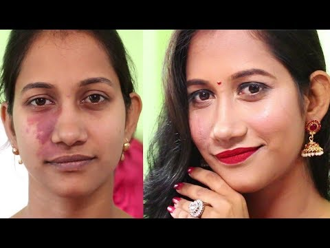 Girl sees herself for first time without her birthmark | The Power of Makeup